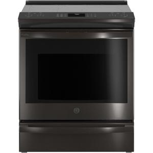 "GEGE Profile(TM) 30"" Smart Slide-In Electric Convection Range with No Preheat Air Fry"