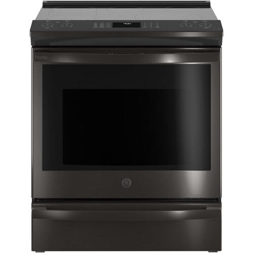 "GE Profile™ 30"" Smart Slide-In Electric Convection Range with No Preheat Air Fry"