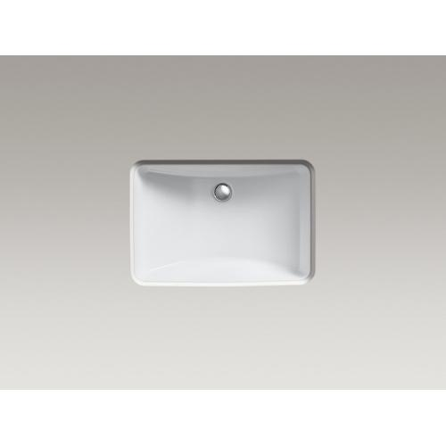 "Ice Grey 20-7/8"" X 14-3/8"" X 8-1/8"" Undermount Bathroom Sink"