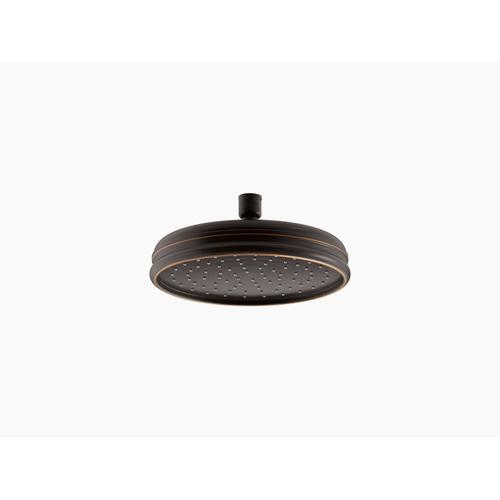 """Oil-rubbed Bronze 8"""" Rainhead With Katalyst Air-induction Technology, 2.5 Gpm"""