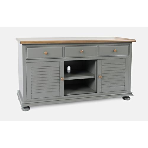 Vineyard Haven Console - Cottage Grey Two Tone