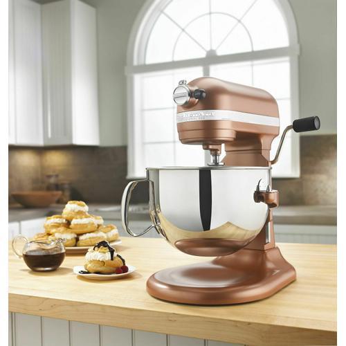 KitchenAid - Professional 600™ Series 6 Quart Bowl-Lift Stand Mixer - Copper Pearl