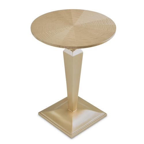 Round Pedestal Tea Table