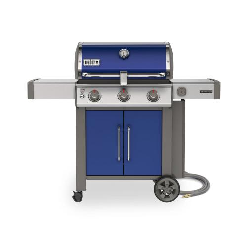 Genesis II SE-315 Gas Grill - Deep Ocean Blue Natural Gas