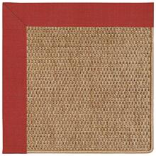 "View Product - Islamorada-Basketweave Dupione Crimson - Rectangle - 24"" x 36"""