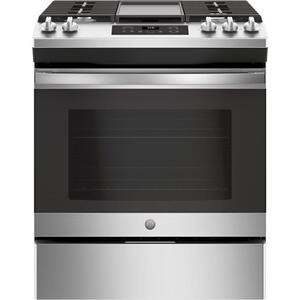 "GEGE® 30"" Slide-In Front Control Gas Range"