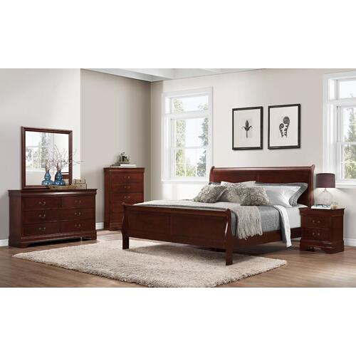Chablis Cherry LP King Bed