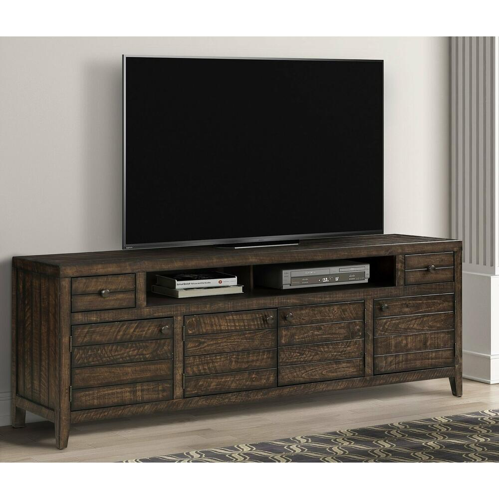 See Details - TEMPE - TOBACCO 84 in. TV Console