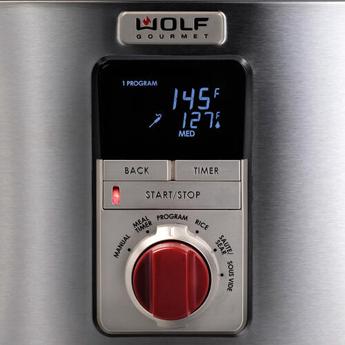Multi-Function Cooker Red Knob