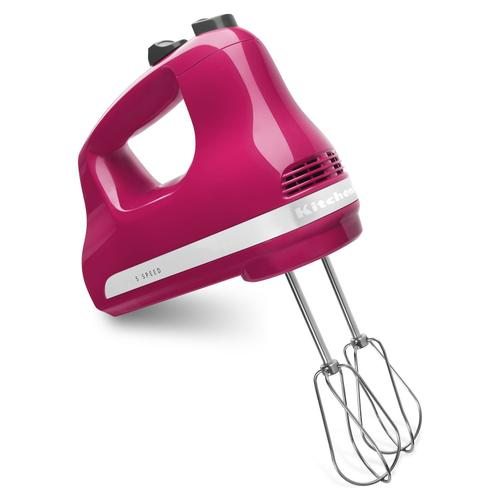 5-Speed Ultra Power Hand Mixer Cranberry