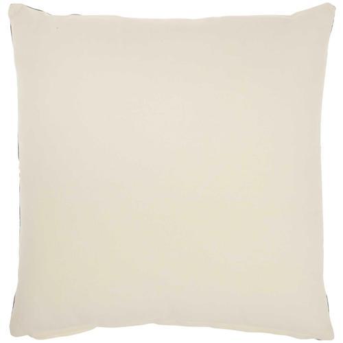 "Life Styles Sh031 Navy 20"" X 20"" Throw Pillow"