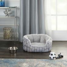 "Pet Beds Na359 22"" X 16"" X 9"" Grey Pet Bed"