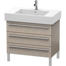 View Product - Vanity Unit Floorstanding, Cashmere Oak