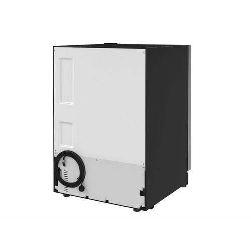 "KitchenAid Canada - 24"" Undercounter Refrigerator with Glass Door - Stainless Steel"