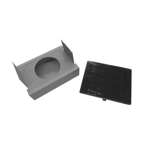 Charcoal Filter Kit for KG hood models, all sizes Nero