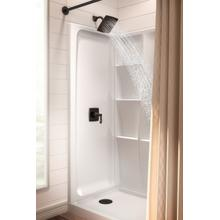 "High Gloss White 60"" x 32"" Shower Base - Left Drain"