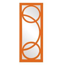 View Product - Dynasty Mirror - Glossy Orange