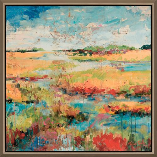 Expressionistic Marsh