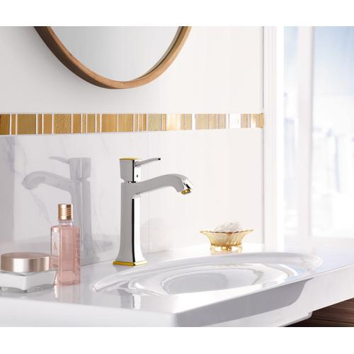 Chrome Single-Hole Faucet 160 with Pop-Up Drain, 1.2 GPM