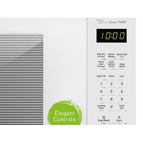 Panasonic - 1.3 Cu. Ft. 1100W Countertop Microwave Oven - White - NN-SU656W