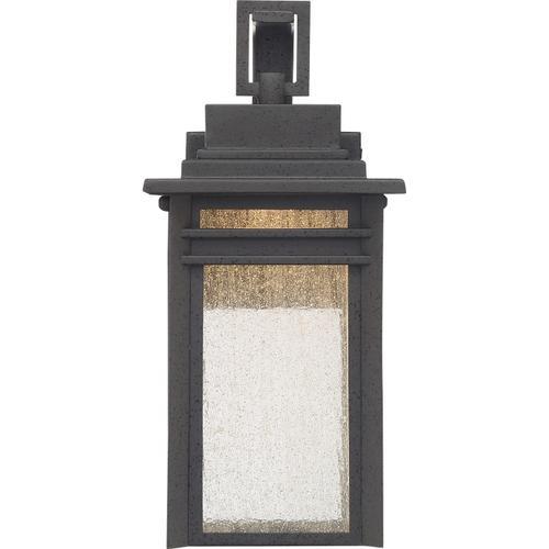 Quoizel - Beacon Outdoor Lantern in Stone Black