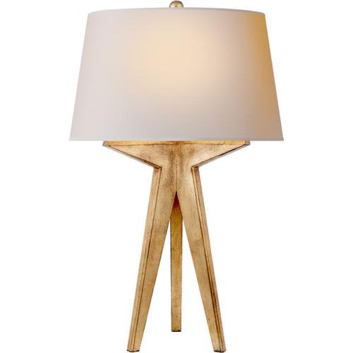 Visual Comfort - E. F. Chapman Russell 29 inch 150.00 watt Gilded Iron Table Lamp Portable Light