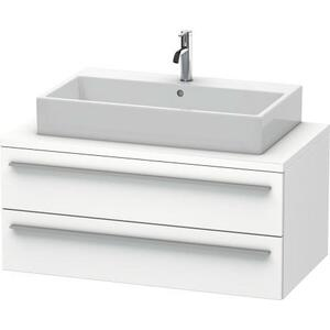 Vanity Unit For Console, White Matte