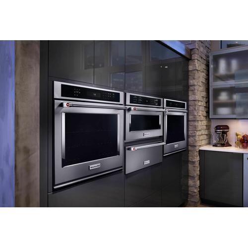 """KitchenAid Canada - 27"""" Single Wall Oven with Even-Heat™ True Convection - Stainless Steel"""