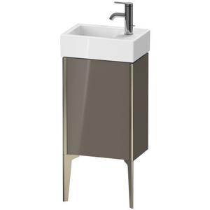 Duravit - Vanity Unit Floorstanding, Flannel Gray High Gloss (lacquer)