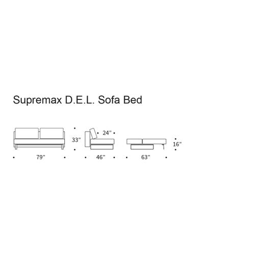 Product Image - DELUXE EXCESS LOUNGER SEAT/DELUXE EXCESS LOUNGER BACK/FL RUNNER E.L. LEGS