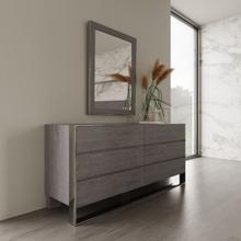 See Details - Modrest Arlene Modern Grey Elm Dresser