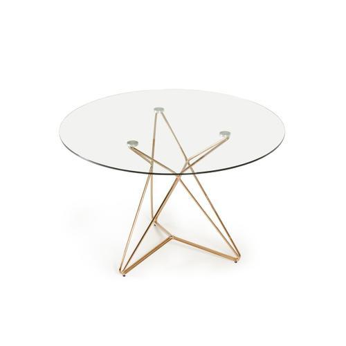 VIG Furniture - Modrest Ashland Modern Glass Round Dining Table