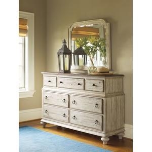 Weatherford Cornsilk Wellington Drawer Dresser
