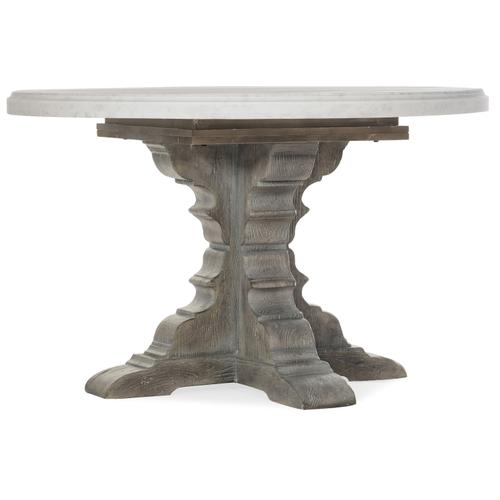 Hooker Furniture - Beaumont Round Dining Table with 48in Marble Top