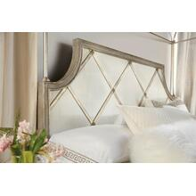 See Details - Sanctuary Diamont Canopy Cal King Panel Bed