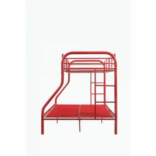 ACME Tritan Twin/Full Bunk Bed - 02043RD - Red