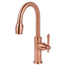 View Product - Antique Copper Pull-down Kitchen Faucet