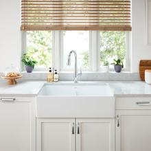 See Details - Avery 36x20 Double Bowl Farmhouse Kitchen Sink  American Standard - Alabaster White