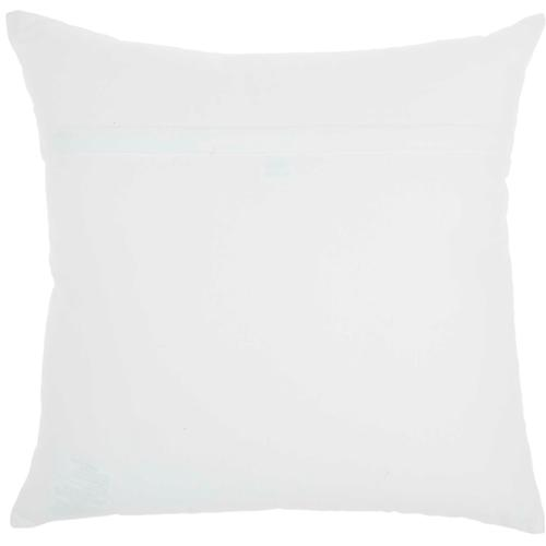 "Home for the Holiday Jb029 White 18"" X 18"" Throw Pillow"