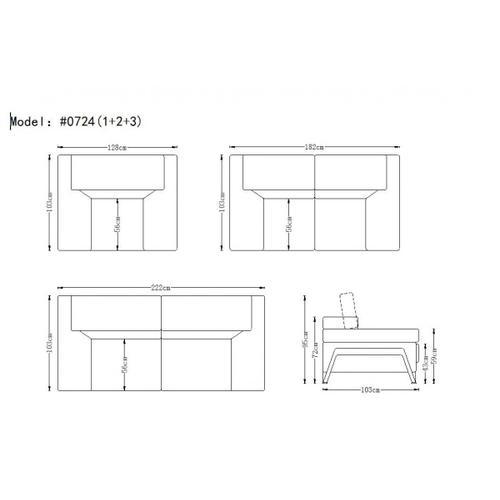 VIG Furniture - Divani Casa Encore - Modern Leather Sofa Set