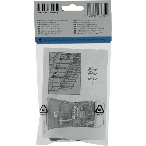 Bosch - Clips for Small Items Part of Dishwasher Kits SGZ1052UC & SMZ5000 10001629