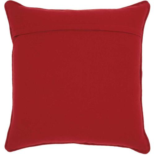 """Home for the Holiday St096 Multicolor 18"""" X 18"""" Throw Pillow"""