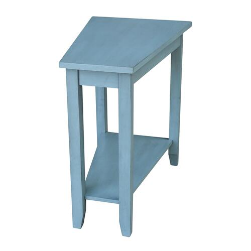 John Thomas Furniture - Keystone Accent Table in Ocean Blue