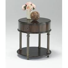 Round Chairside Table - Regent Cherry Finish