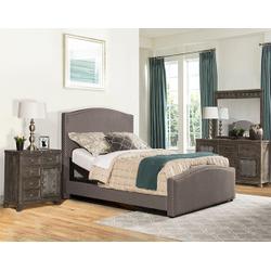 Kerstein Queen Adjustable Bed Set - Orly Gray