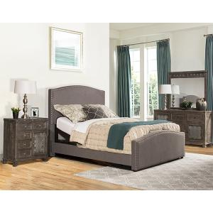 Kerstein Queen Adjustable Bed Set - Orly Gray