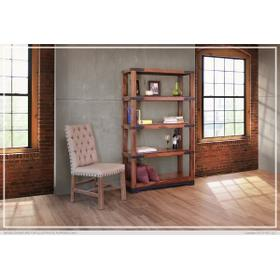 """See Details - 70"""" Bookcase w/4 Wooden Shelves"""