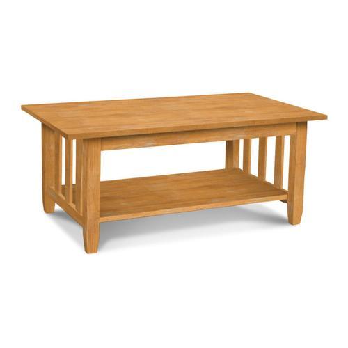 John Thomas Furniture - Mission Coffee Table