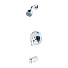 Polished Chrome 1-Handle Tub and Shower Trim