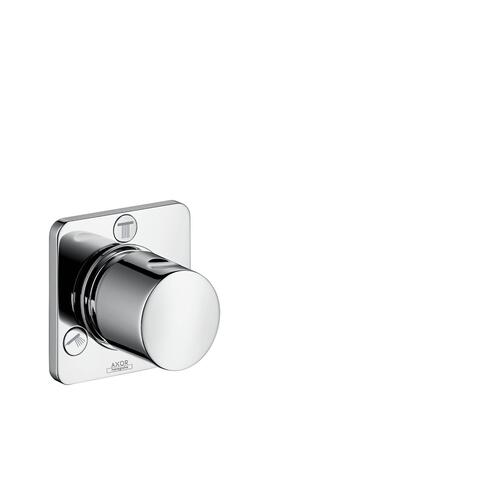 Polished Black Chrome Shut-off/ diverter valve Trio/ Quattro for concealed installation